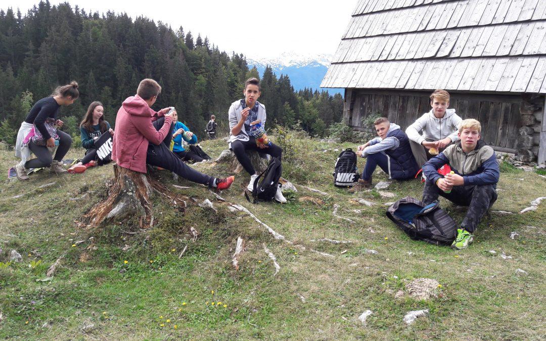 Športni dan – pohod na Planino Zajamniki
