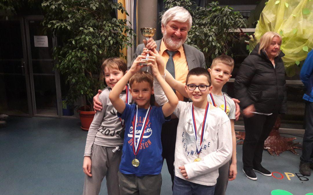 Uspeh naših učencev v šahu