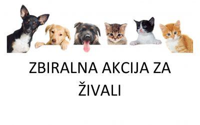 Zbiralna akcija za živali